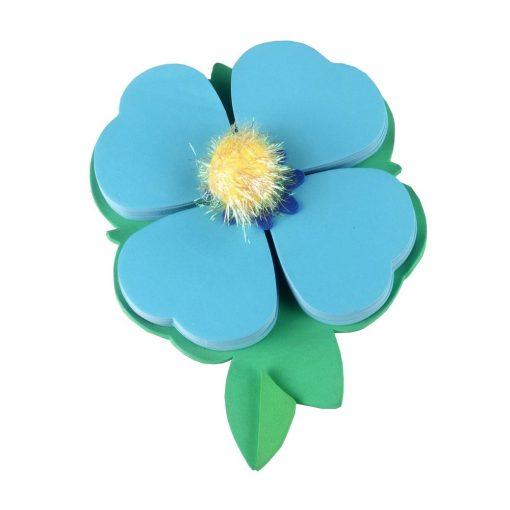 Biletele adezive Petale albastre, TG by AleXer, 8190011, Hartie, Multicolor