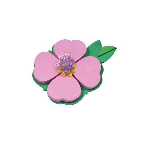 Biletele adezive Petale roz, TG by AleXer, 8190007, Hartie, Multicolor