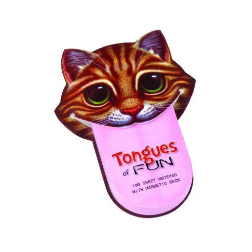 Semn de carte amuzant Limba de Pisica, TG by AleXer, 8190068, Carton, Multicolor