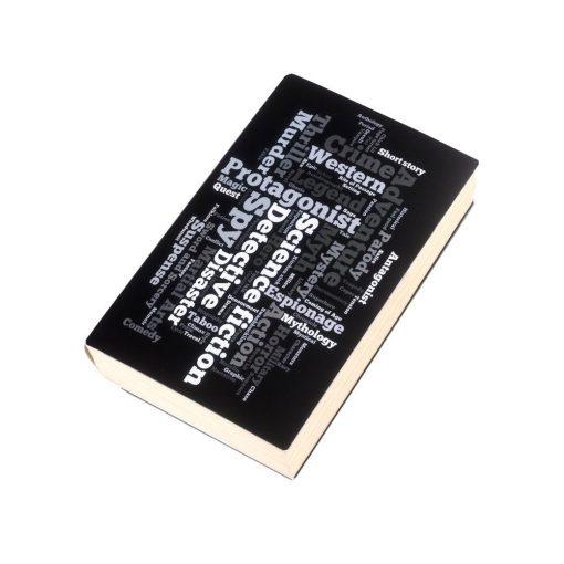 Coperta imprimata pentru carti, TG by AleXer, 8190060, Polipropilena, Negru