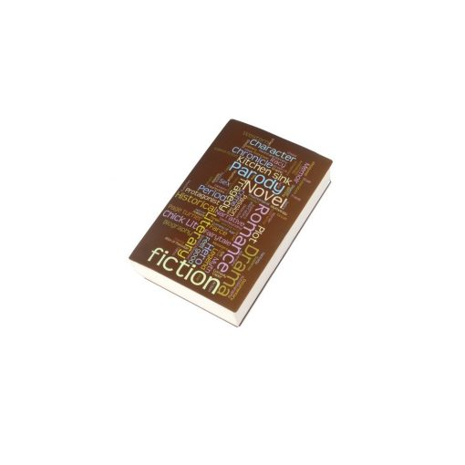 Coperta imprimata pentru carti, TG by AleXer, 8190059, Polipropilena, Maro