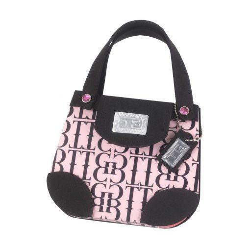 Carnetel poseta negru si roz, TG by AleXer, 8190028, Carton, Hartie, Multicolor