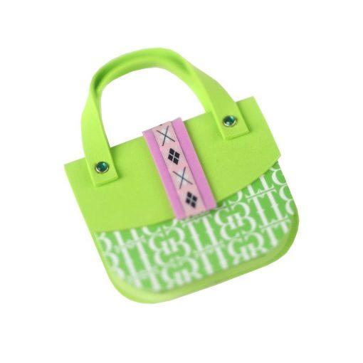 Carnetel poseta argila verde, TG by AleXer, 8190027, Carton, Hartie, Multicolor