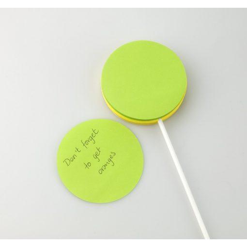 Biletele adezive acadea verde cu galben, TG by AleXer, 8190015, Hartie, Multicolor