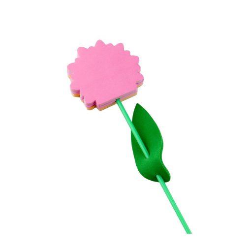 Biletele adezive flori, Bujori roz cu portocaliu, TG by AleXer, 8190008, Hartie, Multicolor