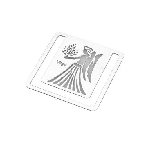 Semn de carte zodia Fecioara, TG by AleXer, 8190077, Metal, Argintiu