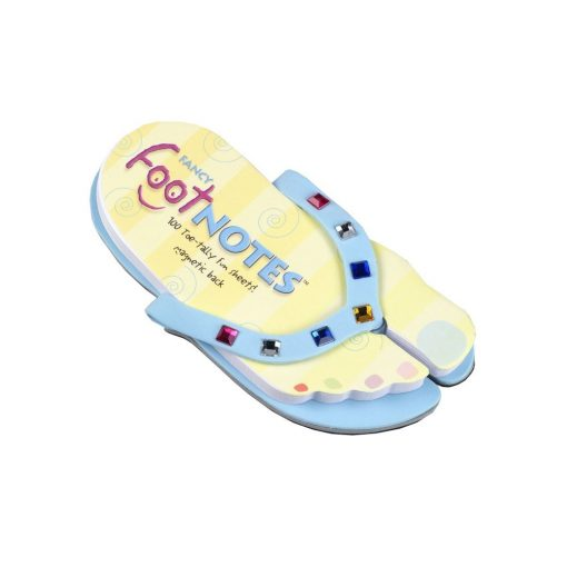 Carnetel papuc de plaja albastru cu bijuterii colorate, TG by AleXer, 8190050, Carton, Hartie, Multicolor