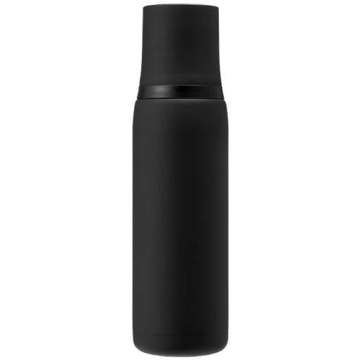 Termos cu perete dublu otel inoxidabil, negru, 500 ml