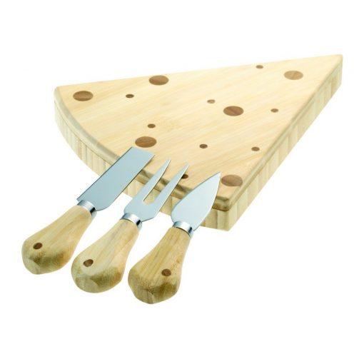 Set branzeturi in cutie de bambus