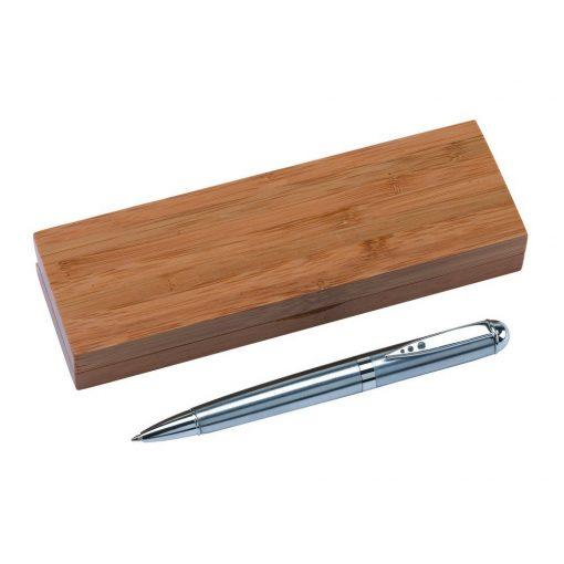 Instrumente de scris in cutie de bambus