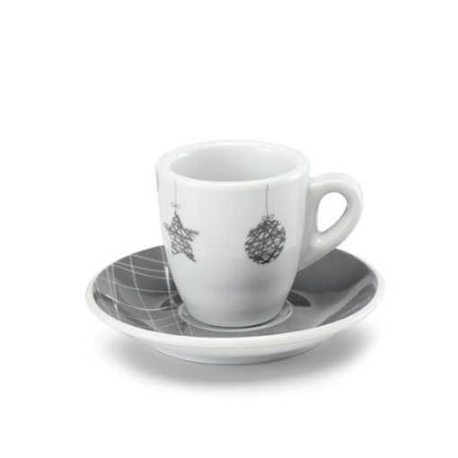 Set 2 cesti de cafea cu design de Craciun