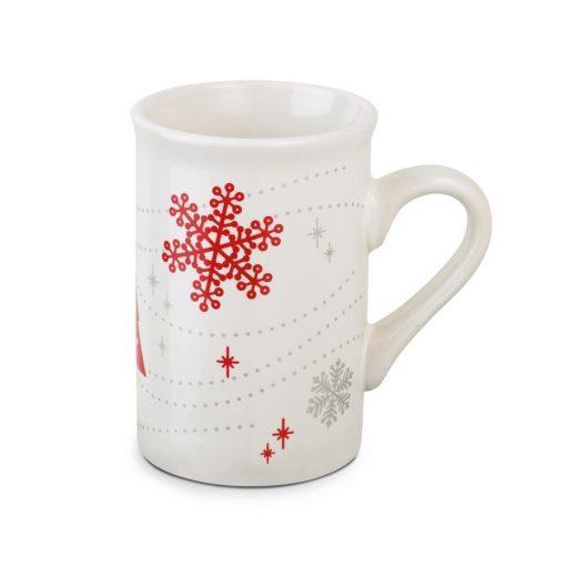 Cana ceramica cu fulgi de nea CDT-93986