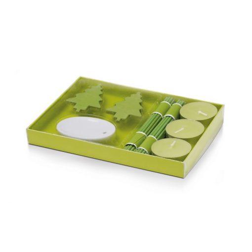 Lumanari parfumate set verde