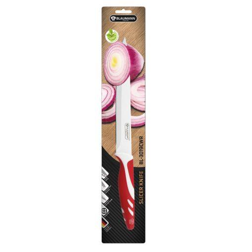 Cutit Blaumann rosu pentru feliere, lama  20 cm