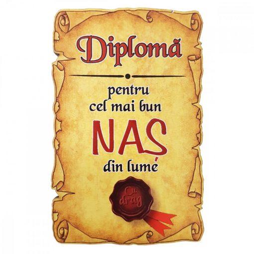 Magnet Diploma pentru cel mai bun NAS din lume, lemn
