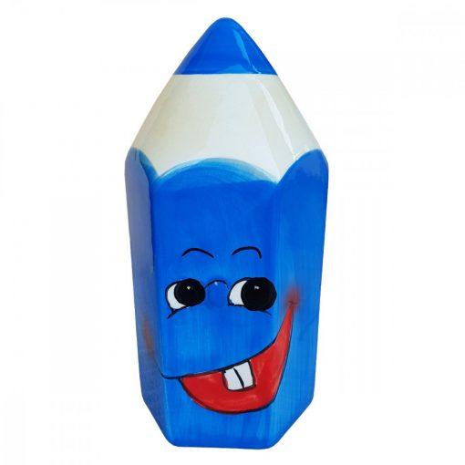 Pusculita creion albastru, ceramica