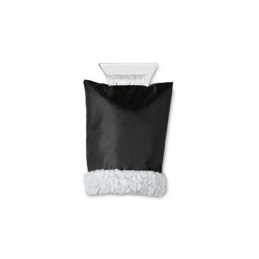 Racleta parbriz cu manusa neagra