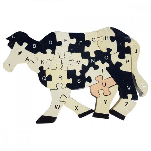 Puzzle VACUTA HOLSTEIN, din lemn