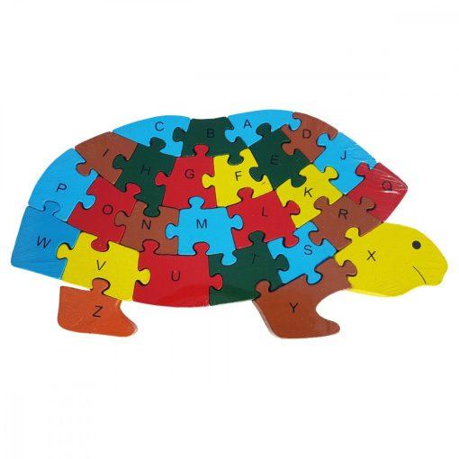 Puzzle BROASCA TESTOASA, din lemn