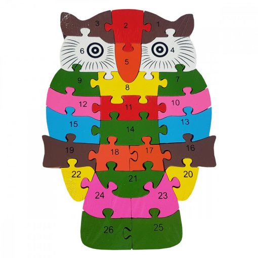 Puzzle BUFNITA, din lemn