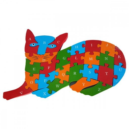 Puzzle PISICUTA, din lemn