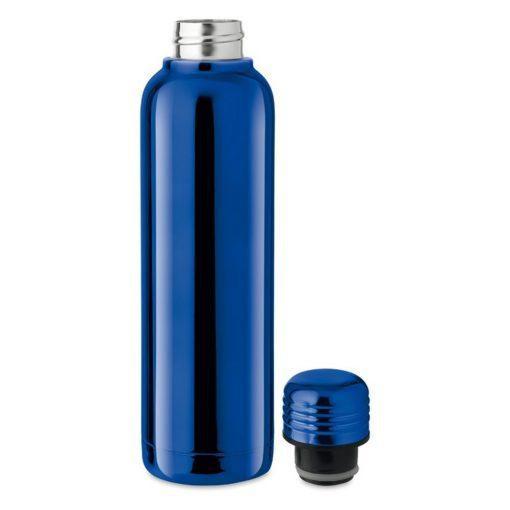 Termos dublu 500 ml, otel inoxidabil, Everestus, TE9, albastru royal, saculet de calatorie inclus