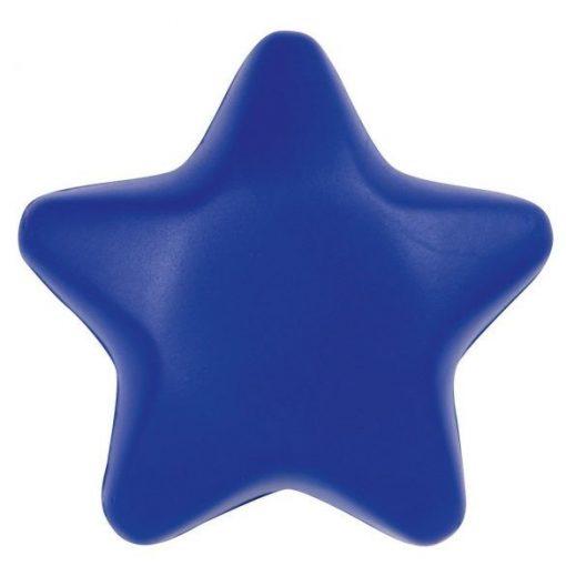 Jucarie antistres Steluta unicolora, Everestus, ASJ037, poliuretan, albastru
