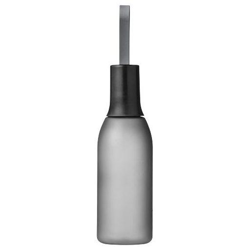 Sticla sport 650 ml, maner curea, Everestus, FW, bpa free, tritan, copoliester si silicon, transparent, negru, saculet inclus