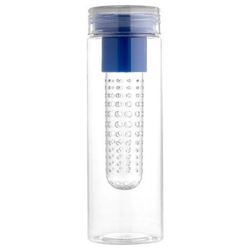 Sticla sport 740 ml cu infuzor, Everestus, FN, bpa free, tritan, albastru, saculet de calatorie inclus