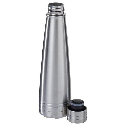 Sticla termoizolanta, perete dublu, 500 ml, Everestus, DE, otel inoxidabil, argintiu, saculet de calatorie inclus