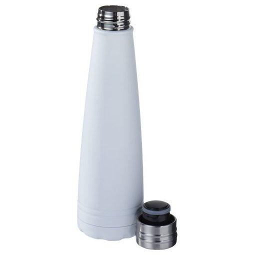 Sticla termoizolanta, perete dublu, 500 ml, Everestus, DE, otel inoxidabil, alb, saculet de calatorie inclus
