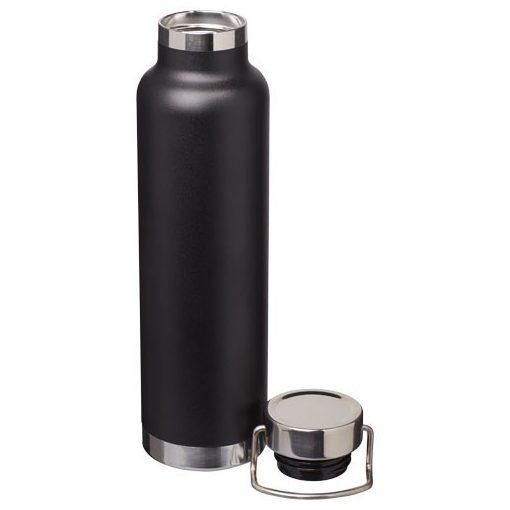 Sticla termoizolanta sport, perete dublu, 650 ml, fara condens, Everestus, TR, otel inoxidabil, negru, saculet inclus