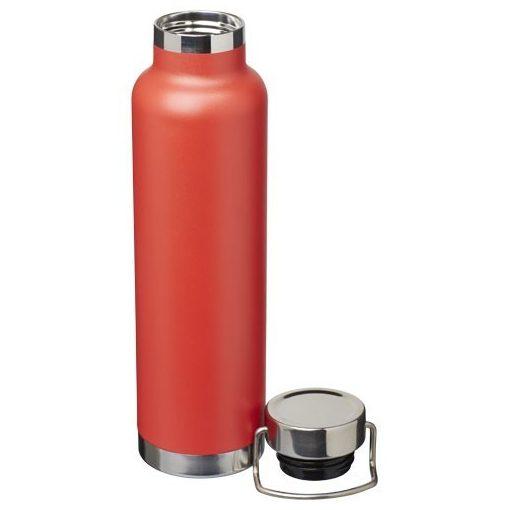 Sticla termoizolanta sport, perete dublu, 650 ml, fara condens, Everestus, TR, otel inoxidabil, rosu, saculet inclus