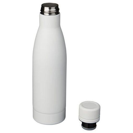 Sticla sport termoizolanta 500 ml, Everestus, VA, otel inoxidabil, alb, saculet de calatorie inclus