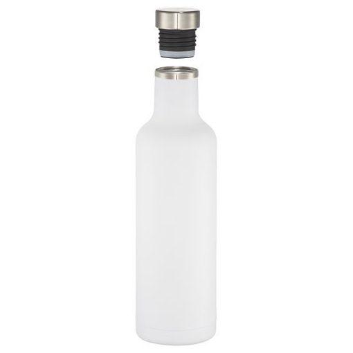 Sticla termoizolanta 750 ml, Everestus, PO, otel inoxidabil, alb, saculet de calatorie inclus