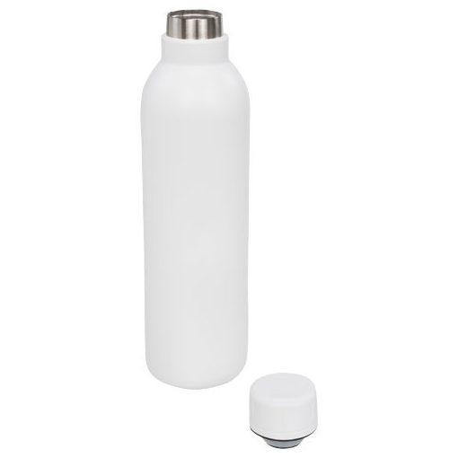 Sticla termoizolanta 510 ml, perete dublu, fara condens, Everestus, TR, otel inoxidabil, alb, saculet de calatorie inclus