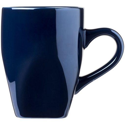 Cana 360 ml, Everestus, CC, ceramica, albastru, saculet de calatorie inclus