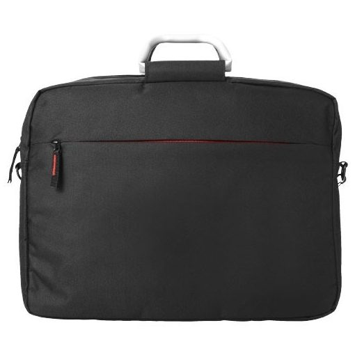 Servieta Laptop, Everestus, NA, 16 inch, 600D poliester, negru, rosu, saculet de calatorie si eticheta bagaj incluse