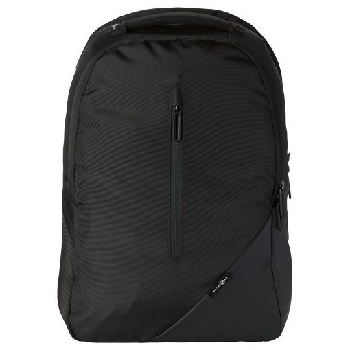 Rucsac Laptop, Everestus, OY, 15.4 inch, tarpaulin si 420D nylon, negru, saculet de calatorie si eticheta bagaj incluse