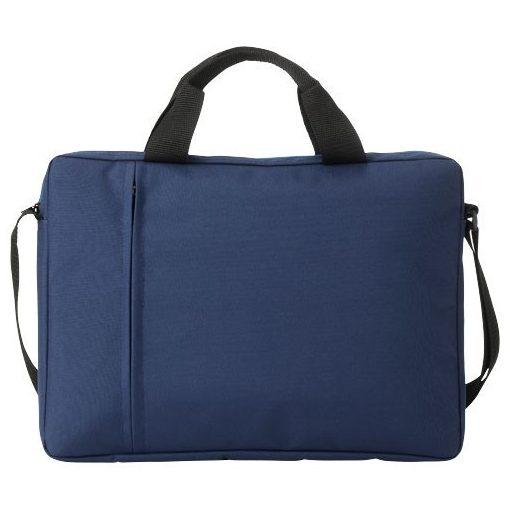 Geanta de conferinte si Laptop, Everestus, TA, 14 inch, 300D poliester, albastru, saculet de calatorie si eticheta bagaj incluse