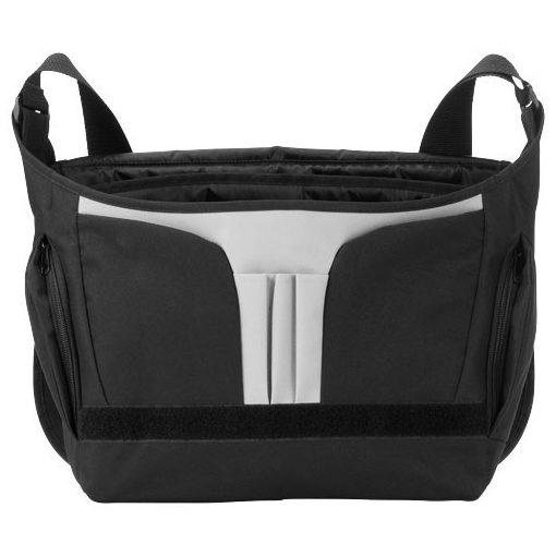 Geanta de conferinte si Laptop, Everestus, SM, 15.6 inch, 600D poliester, negru, saculet de calatorie si eticheta bagaj incluse