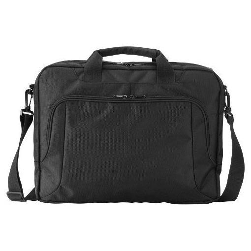 Geanta de conferinte si Laptop, Everestus, JY, 15.6 inch, 1680D poliester, negru, saculet de calatorie si eticheta bagaj incluse
