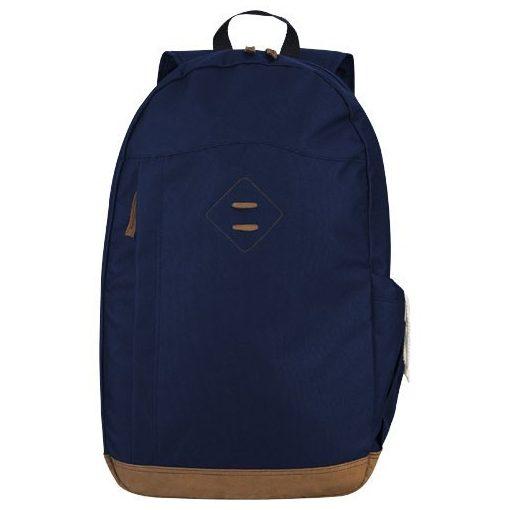 Rucsac Laptop, Everestus, CR, 15.6 inch, 600D poliester, albastru, saculet de calatorie si eticheta bagaj incluse