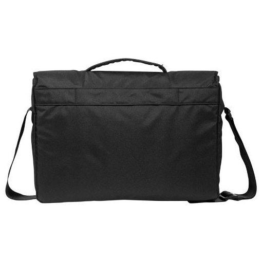 Geanta de Postas/Laptop, Everestus, DE, 15.6 inch, poliester cu PU accente de vinyl, negru, saculet si eticheta bagaj incluse