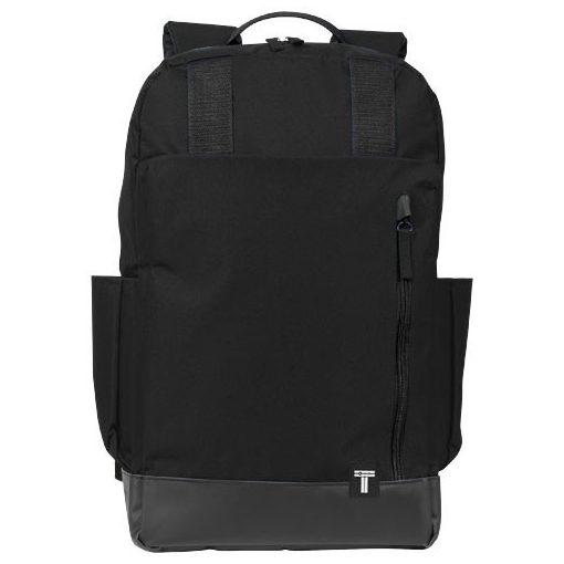 Rucsac Laptop, Everestus, CU, 15.6 inch, 300D poliester cu tarpaulin, negru, saculet de calatorie si eticheta bagaj incluse