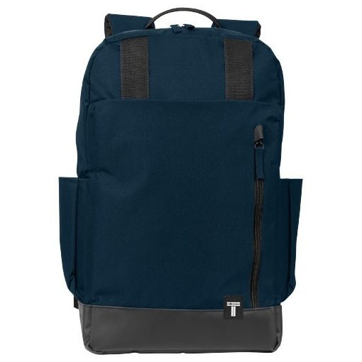 Rucsac Laptop, Everestus, CU, 15.6 inch, 300D poliester cu tarpaulin, albastru, saculet de calatorie si eticheta bagaj incluse