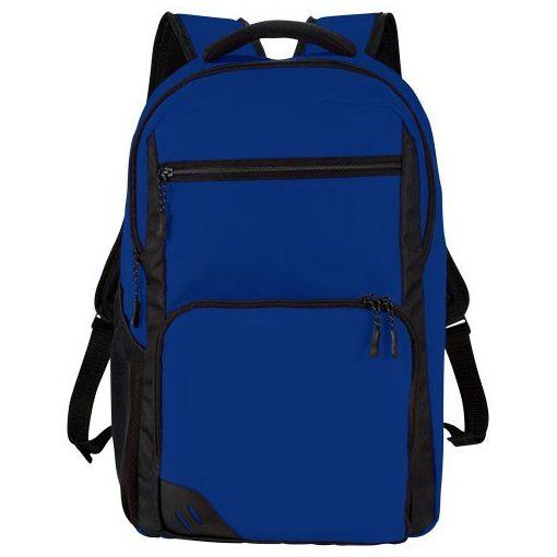 Rucsac Laptop, Everestus, RH, 15.6 inch, 600D poliester, albastru, saculet de calatorie si eticheta bagaj incluse