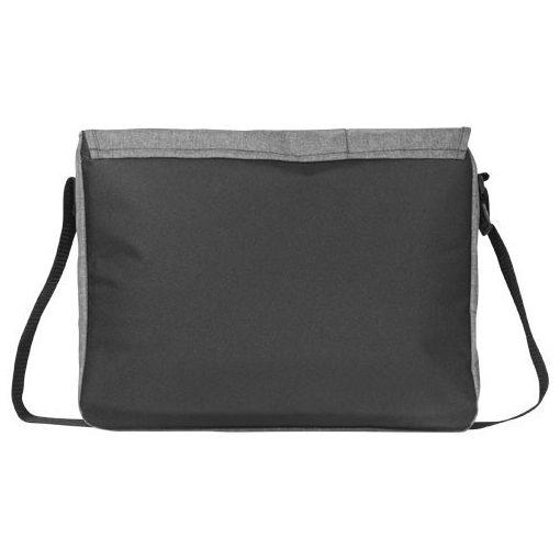 Geanta de Postas/Laptop, Everestus, FM, 15.6 inch, 600D poliester si pvc, gri, saculet de calatorie si eticheta bagaj incluse