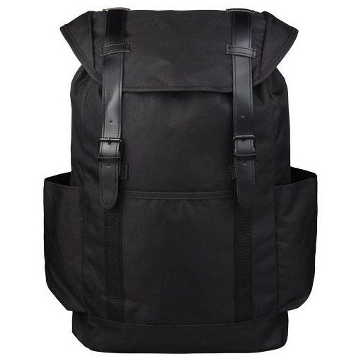 Rucsac Laptop, Everestus, TS, 16 inch, poliester 600D, negru, saculet de calatorie si eticheta bagaj incluse