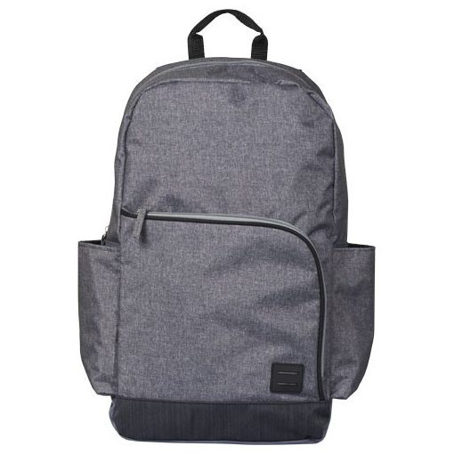 Rucsac Laptop, Everestus, GN, 15 inch, 600D poliester, gri, saculet de calatorie si eticheta bagaj incluse